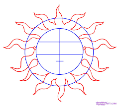 draw the sun by drawing sheets added by september