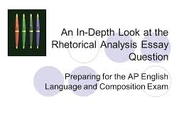 AP ENGLISH LANGUAGE AND COMPOSITION   SCORING COMMENTARY FOR THE