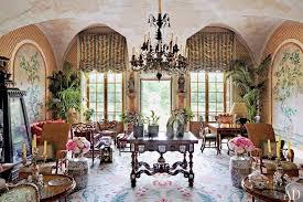 French Chateau Interior Inside Valentino Garavani U0027s Jaw Dropping French Chateau Curbed