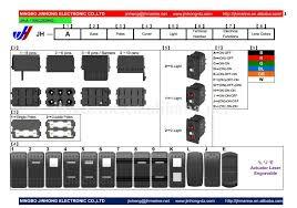 arb 4x4 waterproof illuminated 12v automotive rocker switches