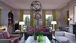 Pink Living Room Furniture Trendy Color Combo Hot Pink U0026 Lime Green