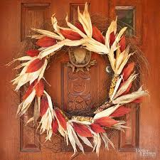 How To Decorate Your House For Fall - 18 fall wreath ideas for your front door homesteading simple