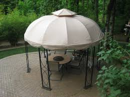 Outdoor Patio Canopy Gazebo by Exterior Lowes 12 Ft Round Gazebo Replacement Canopy And Gazebo