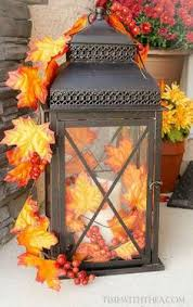 diy inexpensive faux ceramic pumpkin centerpiece from dollar tree