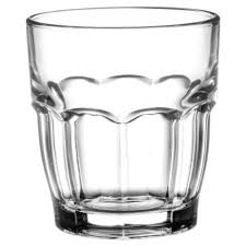 bicchieri vetro rock bar juice bormioli in vetro cl 20