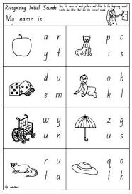 initial sounds activity sheet 1 english skills online