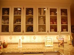 Glass Kitchen Cabinets Doors by Kitchen Wood Cabinet With Glass Doors More Glass Cabinet Doors