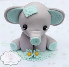 fondant elephant cake topper u0027peggy does cake u0027 cakes