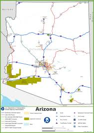 Usa Highway Map Arizona Highway Map