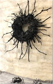 Scary Outdoor Halloween Decorations by Best 20 Scary Halloween Wreath Ideas On Pinterest Tulle Wreath