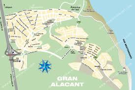 Alicante Spain Map by Gran Alacant Street Map Gran Alacant U0027s Website Mygranalacant