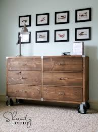 Metal Bedroom Dresser White Rolling Rustic Wood Dresser Diy Projects