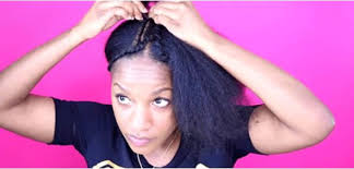 can you cut the weave hair off how to diy a sew in your weave tinashehair