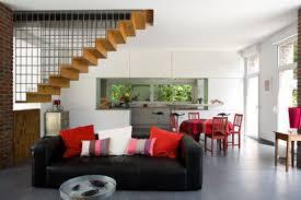 escalier entre cuisine et salon escalier ouvert salon attirant escalier entre cuisine et salon deco