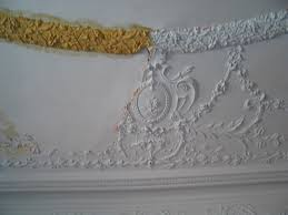 ornamental plaster repair restoration replicate or repair to
