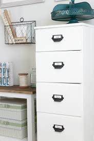 White Wood File Cabinets by Diy Antique Wood Filing Cabinet Delightfully Noted