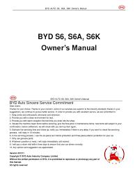 byd s6 owner u0027s manual20110615 en pdf airbag seat belt