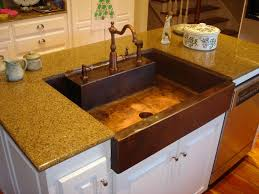 copper kitchen sink faucets of keep your sparkling copper kitchen image of copper kitchen sink reviews