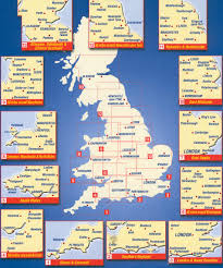 Bristol England Map by Great Britain Maps Buy Online