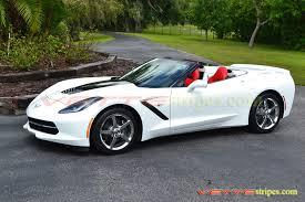 white c7 corvette c7 corvette stingray c7 corvette grand sport stinger stripe
