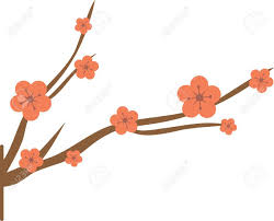 get this japanese cherry blossoms design on wall hangings