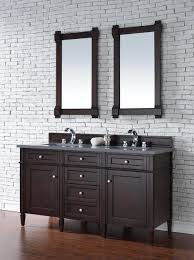 60 Inch Double Sink Bathroom Vanities by Contemporary 60 Inch Double Sink Bathroom Vanity Mahogany Finish