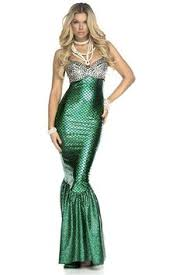 Mermaid Costumes Halloween Green Sequin Mermaid Tail Skirt Costume Xl Womens