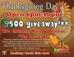 is the mall open on thanksgiving day 2016 thanksgiving flyer rio west mall events