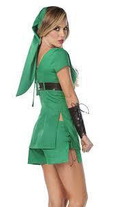 Green Halloween Costume Legend Zelda Link Costume