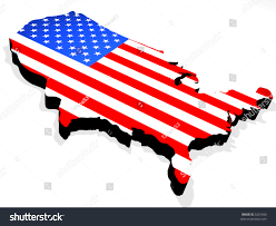 Map The Usa by Map Usa Stock Illustration 3265400 Shutterstock
