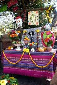 fashionable dia de los muertos decoration forget the most