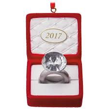 engagement 2017 hallmark ornament gift ornaments hallmark