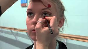 theatrical makeup school collingwood school of stage makeup tutorial