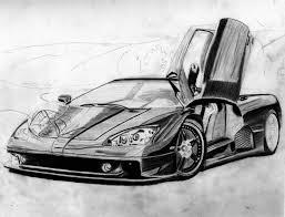 sports cars drawings ssc ultimate aero drawing art amino
