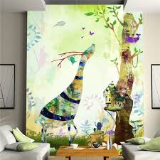 aliexpress com buy nature u0026 animal deer diy 3d wallpaper wall