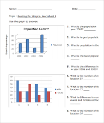 16 sample bar graph worksheet templates free pdf documents