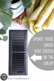 Floor Vent Covers by Day 5 How To Clean And Update Those Gross Vent Covers Twelveoeight