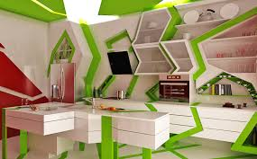 home interior concepts awesome innovative kitchen design concepts cubism in the