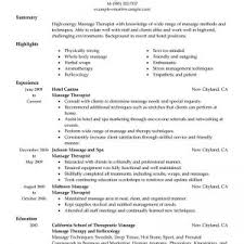 resume format massage therapist resume examples fetching licensed