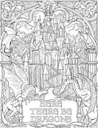 free coloring coloring advanced dungeons dragons