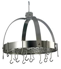 Hanging Bakers Rack Amazon Com Old Dutch Dome Pot Rack With 16 Hooks Graphite 20