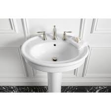 kohler small pedestal sink home design photo gallery