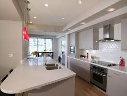 what is the best lighting for a galley kitchen fantastic space saving galley kitchen ideas
