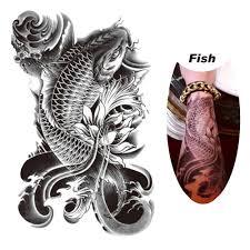 carp fish tattoo online get cheap fish tattoo art aliexpress com alibaba group