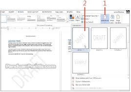 cara membuat tulisan watermark di excel tik kesukaanku cara memasukkan dan membuat watermark di word 2013