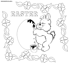 easter coloring pages coloring pages to download and print