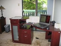 bush desks corner best bush vantage corner desk collection
