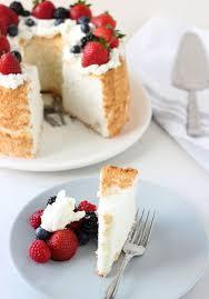 Angel Decorated Cake Honey Coconut Angel Food Cake Bhg Delish Dish