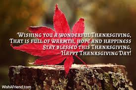 wishing you a wonderful thanksgiving that thanksgiving message