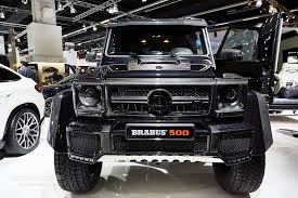 lifted mercedes brabus mercedes g500 4x4 and g class 850 biturbo widestar
